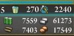 20150827艦これE-4クリア後資源