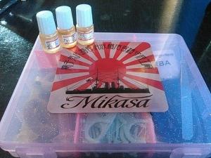 Mikasaステッカー 01