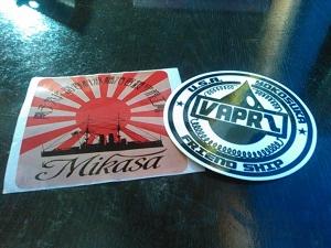 Mikasaステッカー 02