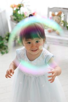 2歳バースデーフォト群馬伊勢崎まやちゃんドレス