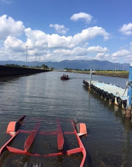 琵琶湖 スロープ