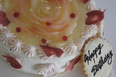 良子さんのケーキ2