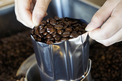 コーヒー豆詰め放題