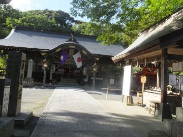 有機米蒲生神社へも10