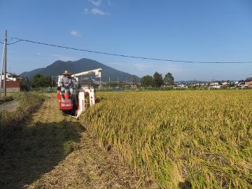 稲刈り終了27年3