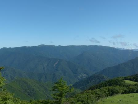 四国カルストから見た風景 1
