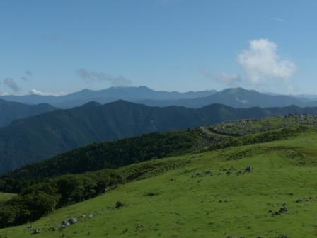 四国カルストから見た風景 2