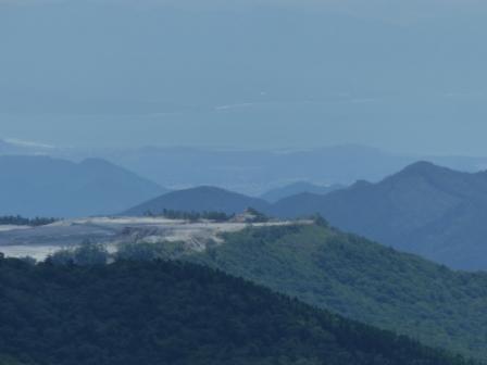 四国カルストから見た風景 7
