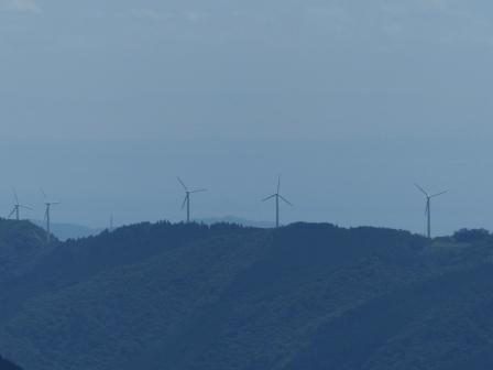 四国カルストから見た風景 6