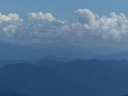 四国カルストから見た風景 5