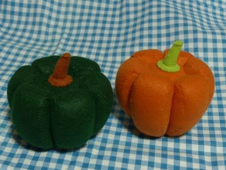 フェルト手芸・野菜+フルーツ かぼちゃ