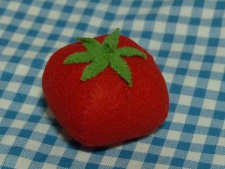 フェルト手芸・野菜+フルーツ トマト