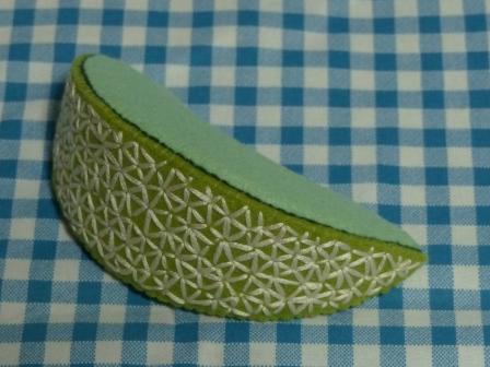 フェルト手芸・野菜+フルーツ メロン