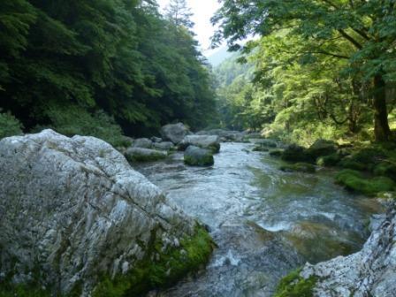 小田深山渓谷 1