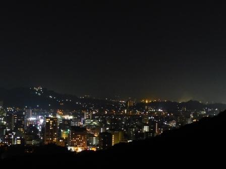 本丸広場からの夜景
