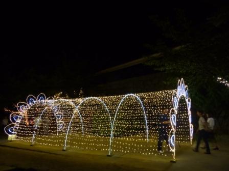 光のおもてなし in 松山城 2