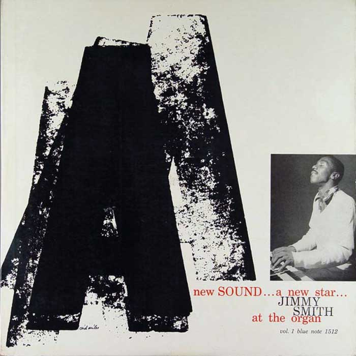 Jimmy Smith At The Organ A New Sound A New Star Vol.1 Blue Note BLP 1512