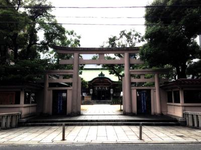 坐摩神社さんへ久しぶりに