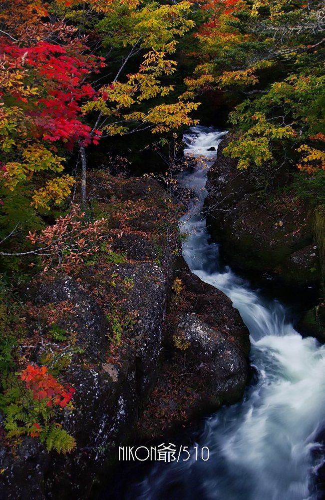 竜頭の滝の裏の滝 s_f