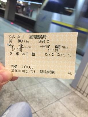 台北からいーらん切符