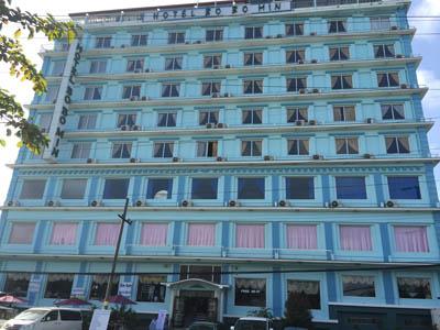 ミャンマー観光6 ホテル1br