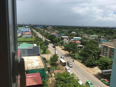 ミャンマー観光9 ホテル3br