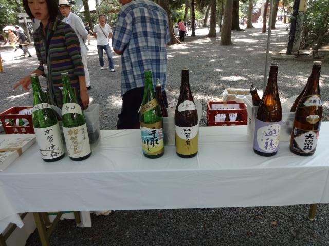石川出品酒
