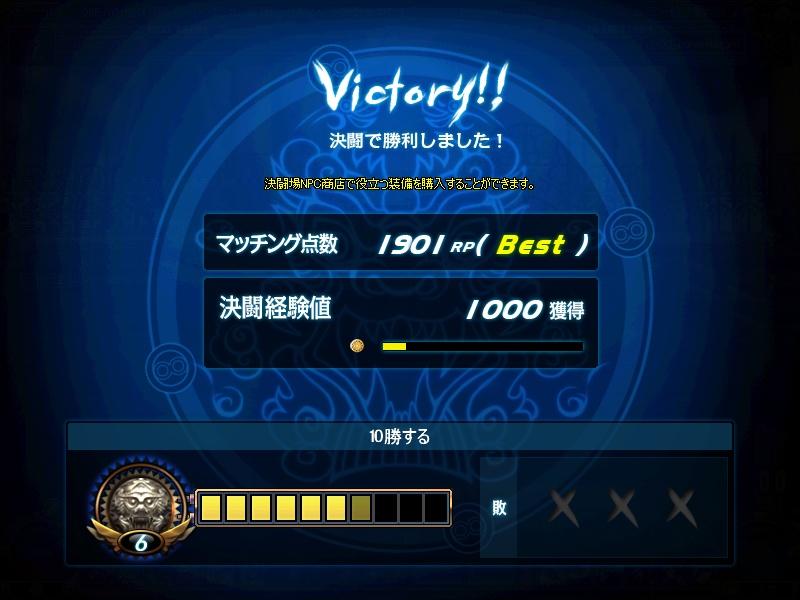 RP1900達成