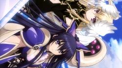 re 327696 armor cleavage date_a_live mayuri_(date_a_live) sword wings yatogami_tooka