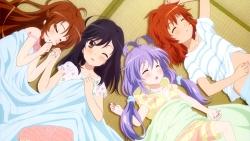 re 329490 ichijou_hotaru koshigaya_komari koshigaya_natsumi miyauchi_renge non_non_biyori pajama sheets tagme