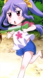 o_a327005 gun ichijou_hotaru koshigaya_komari koshigaya_natsumi miyauchi_renge non_non_biyori