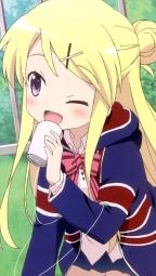 i_317050 kiniro_mosaic kujou_karen matsubara_honoka ninomiya_souji seifuku