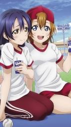 a 332431 baseball gym_uniform kousaka_honoka love_live! minami_kotori sonoda_umi