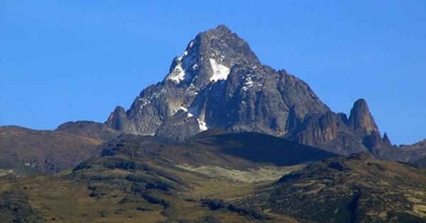 ケニア ケニア山