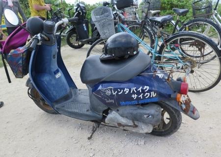 波照間レンタバイク