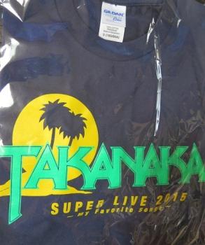 2015ツアーTシャツ