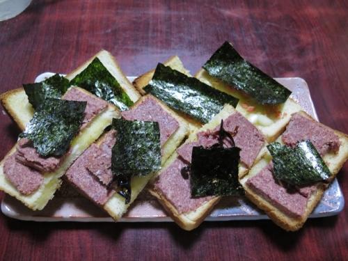 カナッペ風トースト
