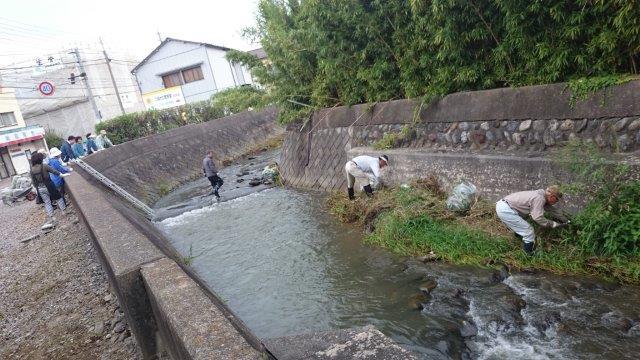 松本川掃除