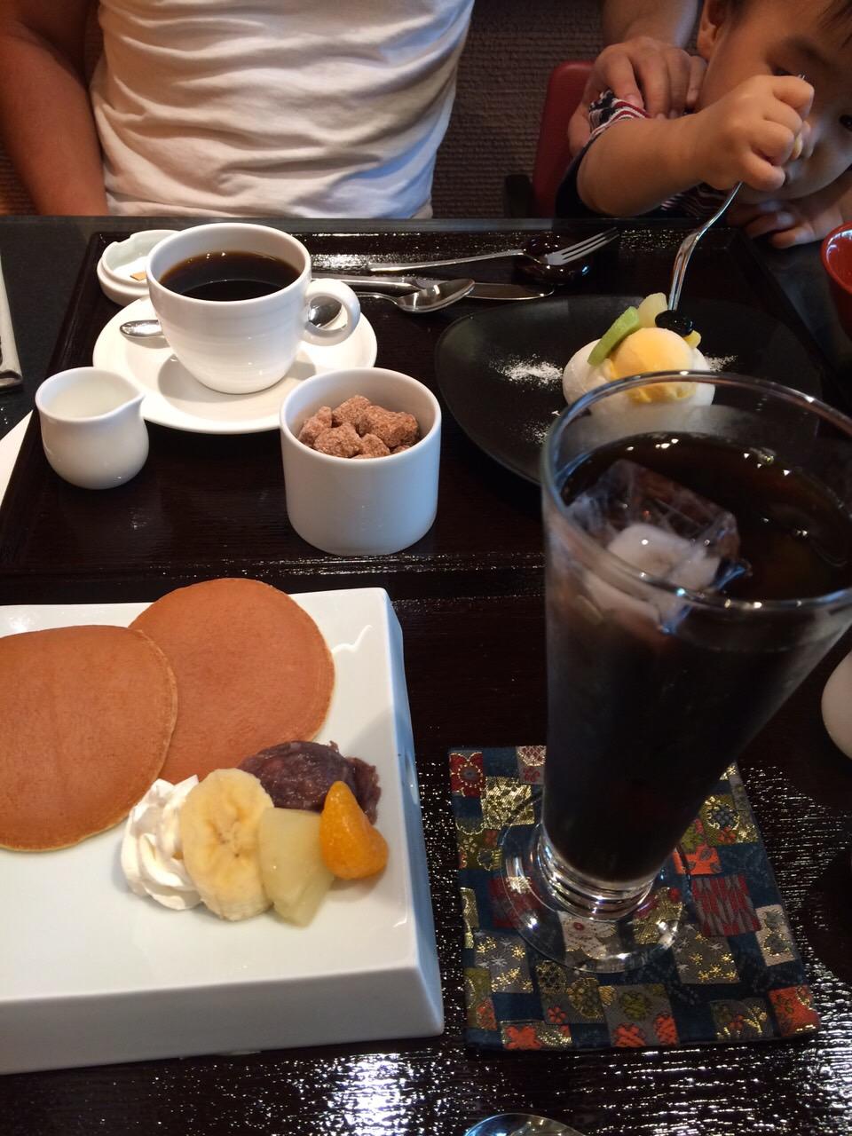 小倉山荘カフェ