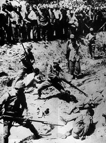 日本軍に依る処刑 詳細不明