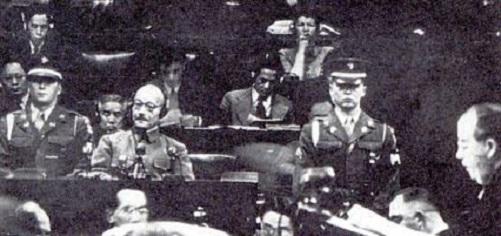 東京裁判に於ける東条英機