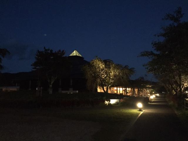 夜の大賀ホール
