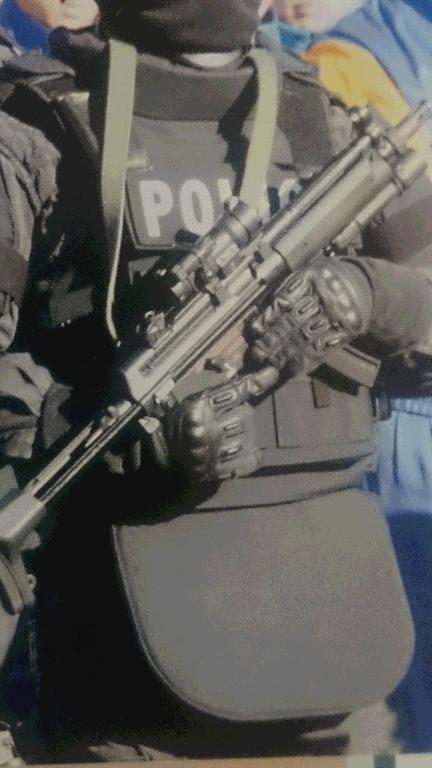 2015年栃木県警年頭視閲MP5