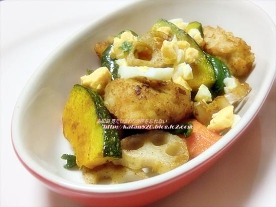 彩り野菜のバルサミコ酢鶏♪