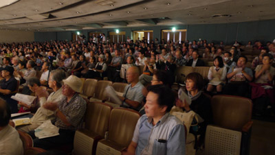 15oo人の聴衆