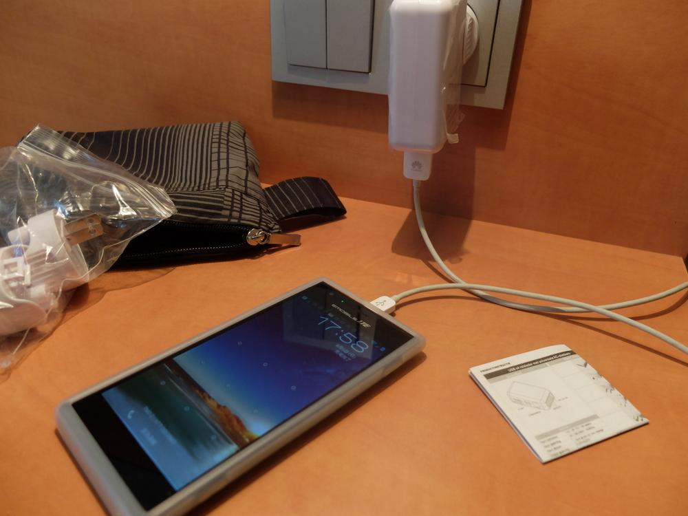 USB トラベルチャージャー05