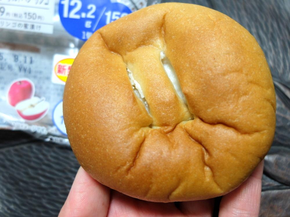 ブランのヨーグルトパン リンゴ ローソン 03