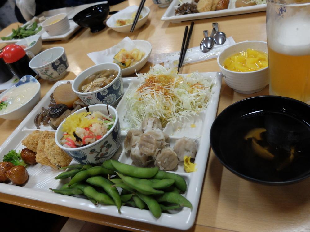おおるり山荘夕食