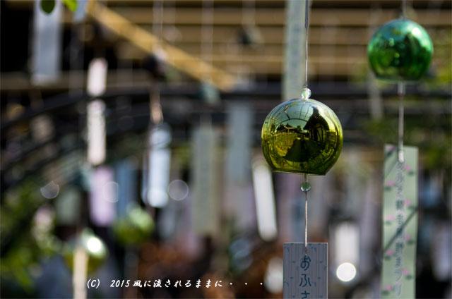 2015年8月撮影 奈良・おふさ観音 風鈴まつり7