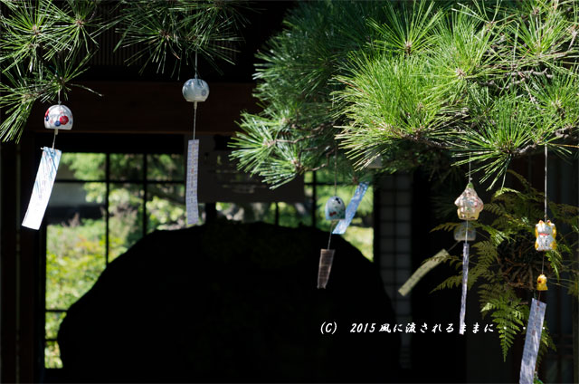 2015年8月撮影 奈良・おふさ観音 風鈴まつり9